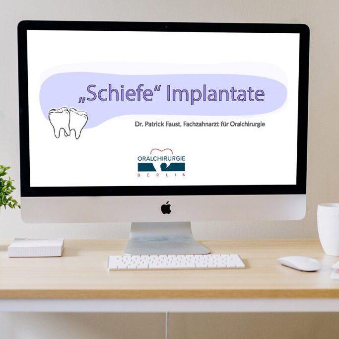 """Erklärvideo auf Youtube: """"Schiefe"""" Implantate"""